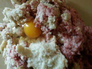 Carciofi ripieni impasto uovo